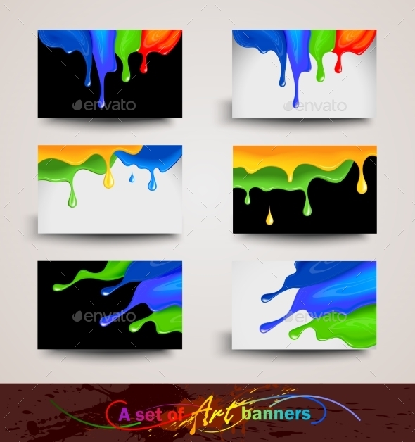 GraphicRiver Art Banners 10258763