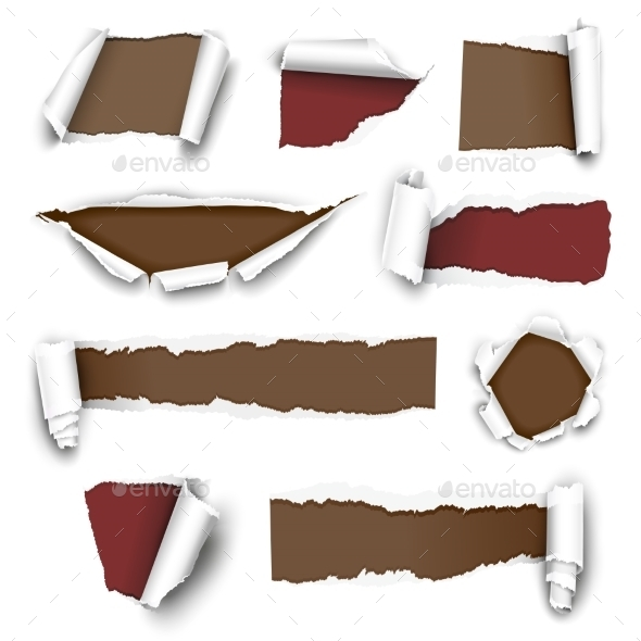 GraphicRiver Torn Papers 10258809