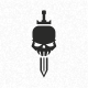 Skull Sword - GraphicRiver Item for Sale