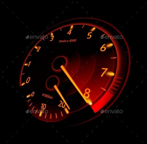 GraphicRiver Tachometer 10258940
