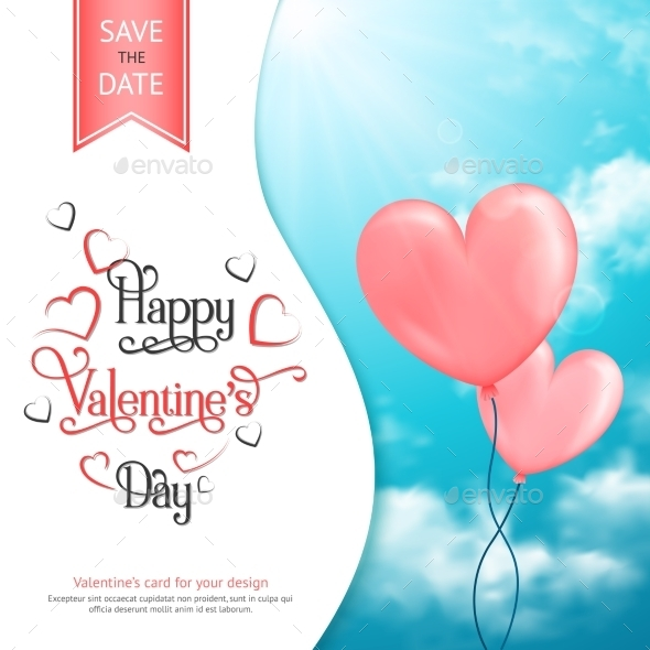 GraphicRiver Valentine Card 10259063