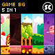 5 in 1 Game Background - GraphicRiver Item for Sale