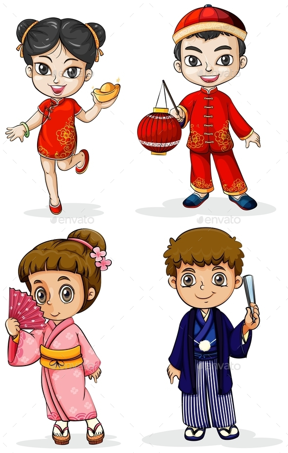 GraphicRiver Asian People 10259192