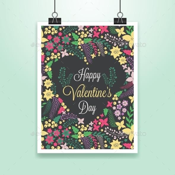 GraphicRiver Valentine s Poster 10259219