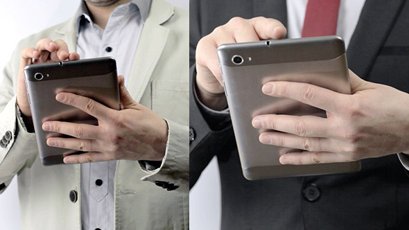 Businessman With Tablet 2 pack