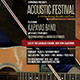Acoustic Festival Flyer - GraphicRiver Item for Sale