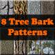 8 Tree Bark Patterns - GraphicRiver Item for Sale