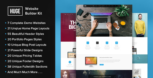 DOWNLOAD - HUGE - PSD Website Builder