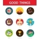 Good Things Icons - GraphicRiver Item for Sale