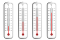 Indoor thermometers in Fahrenheit scale - PhotoDune Item for Sale