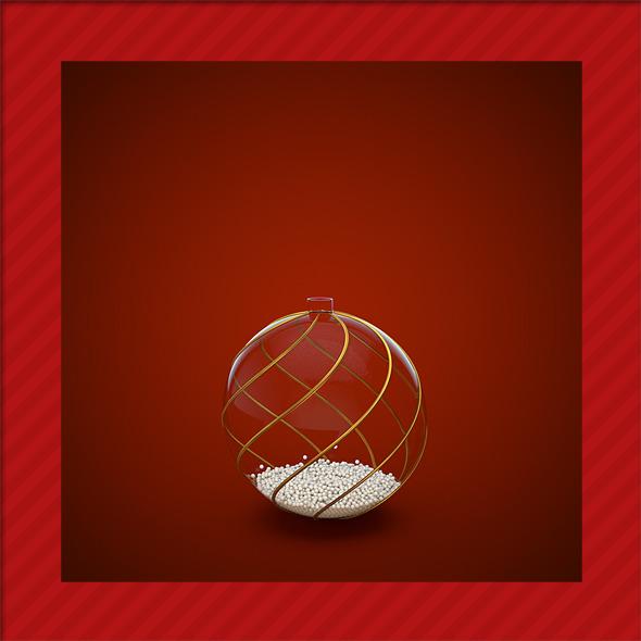3DOcean HiRes Christmas Decoration 3 1033374