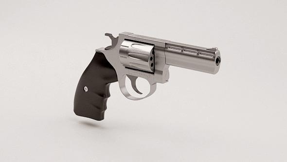 3DOcean Magnum Revolver 10223080