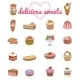Dessert Vector Set - GraphicRiver Item for Sale