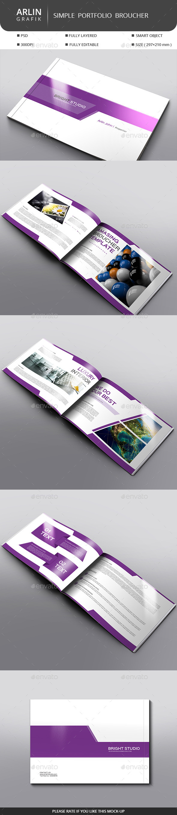 GraphicRiver Simple Portfolio V 01 10260870