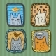 Cats Dreaming - GraphicRiver Item for Sale