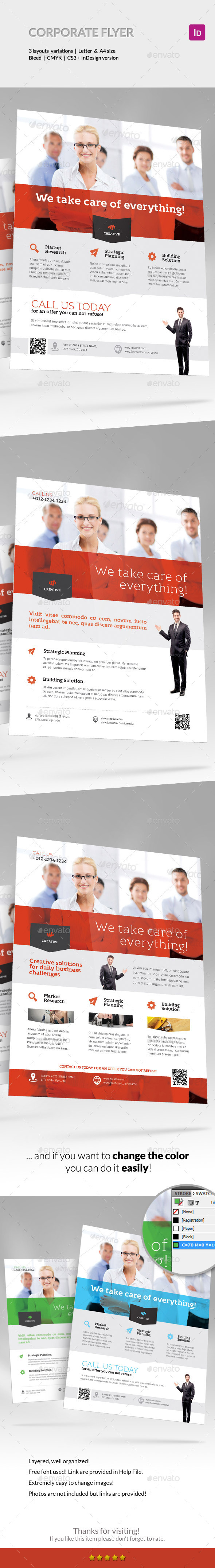 GraphicRiver Corporate Business Flyer Set vol 6 10260982