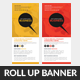 Creative Business Rollup Banners  - GraphicRiver Item for Sale