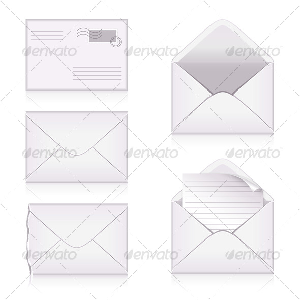 GraphicRiver Set from envelopes 129489