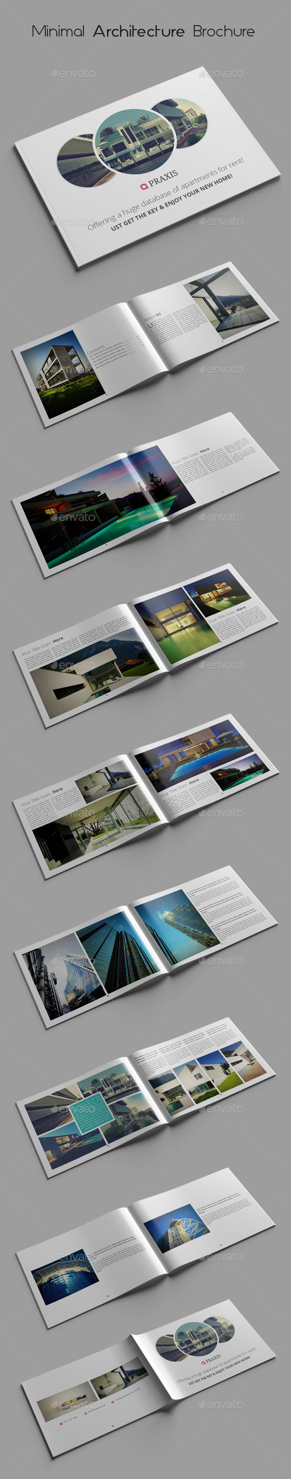 GraphicRiver Minimal Architecture Brochure Templates 10261184