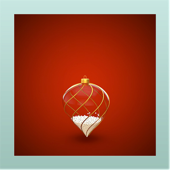 3DOcean HiRes Christmas Decoration 5 1033487