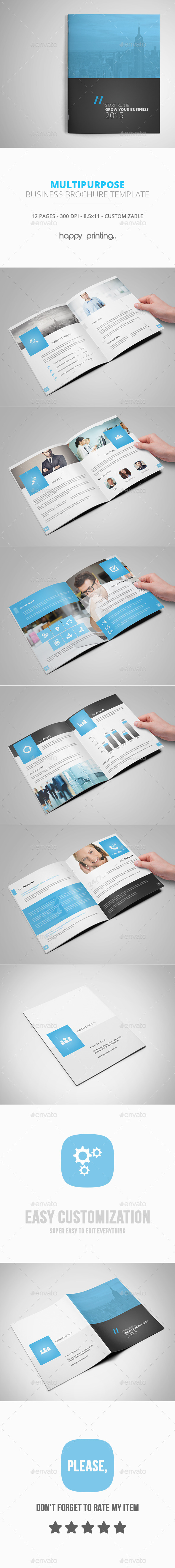 GraphicRiver Multipurpose Business Brochure Template 10262032