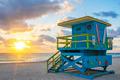 Beautiful Miami South Beach sunrise - PhotoDune Item for Sale
