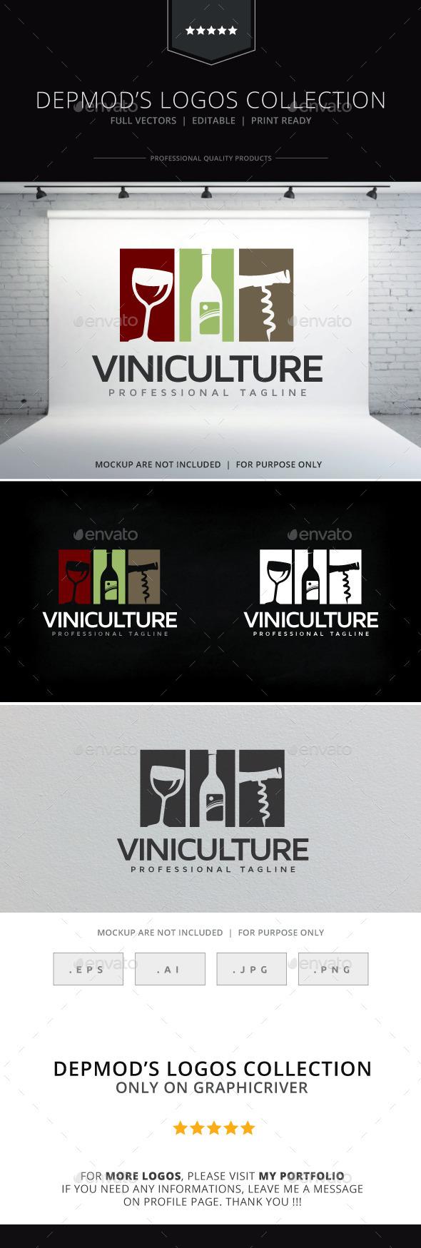 GraphicRiver Viniculture Logo 10264942