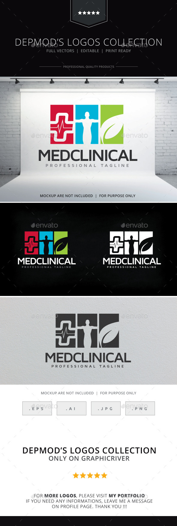 GraphicRiver Med Clinical Logo 10264976