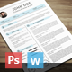 Simple Resume 4 - GraphicRiver Item for Sale