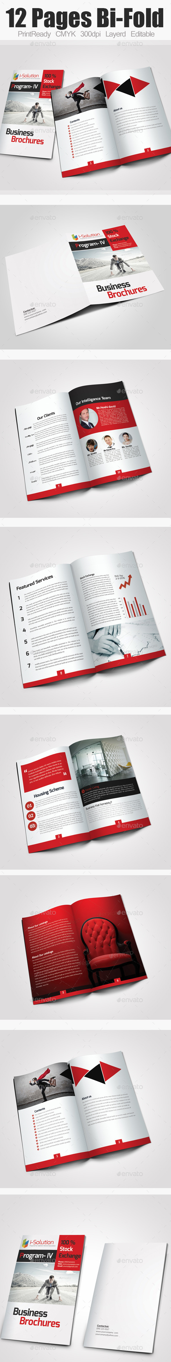 GraphicRiver Bi Fold Business Catalog Brochure 10265365