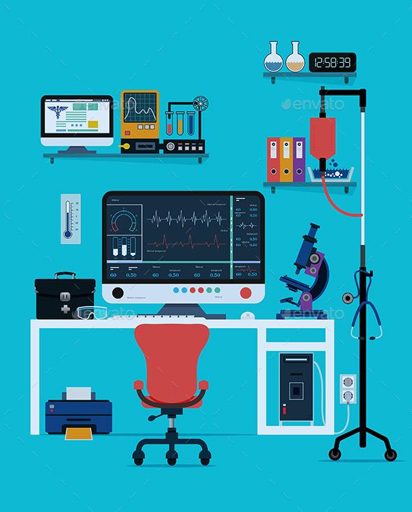 GraphicRiver Medical Instruments 10265415