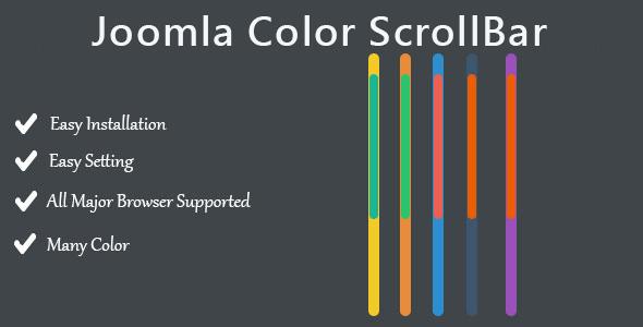 CodeCanyon Joomla Color ScrollBar 10190770