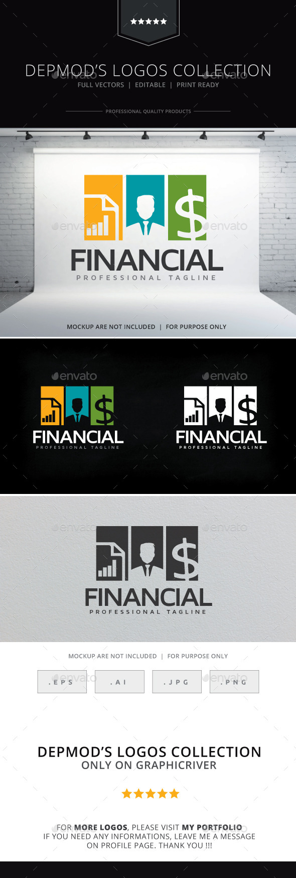 GraphicRiver Financial Logo 10265616