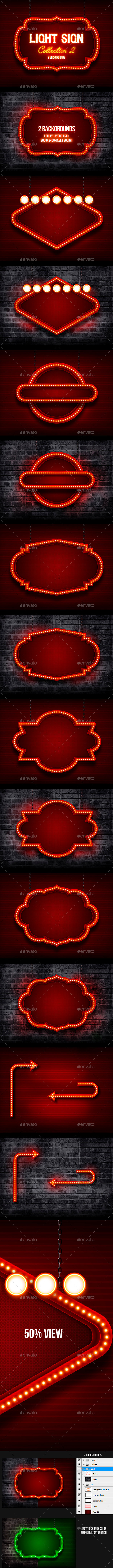 GraphicRiver Light Sign 2 10232242