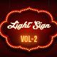 Light Sign 2 - GraphicRiver Item for Sale