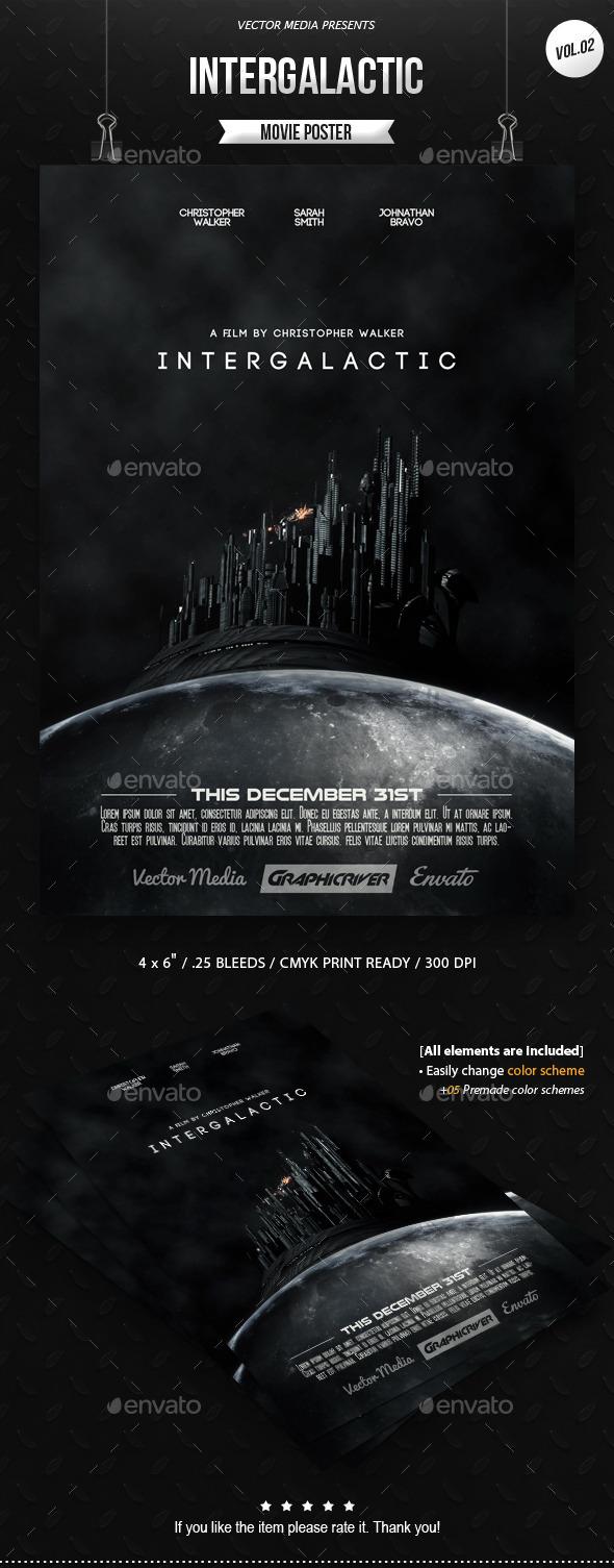 GraphicRiver Intergalactic Movie Poster [Vol.2] 10265652