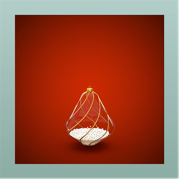 HiRes Christmas Decoration 6 - 3DOcean Item for Sale