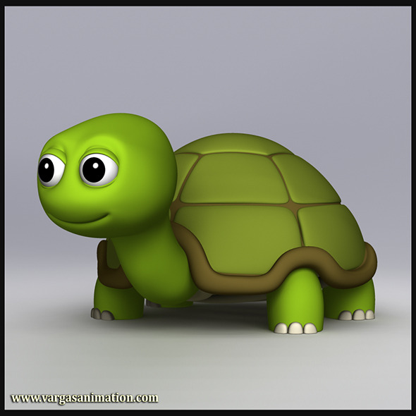 Cartoony Turtle