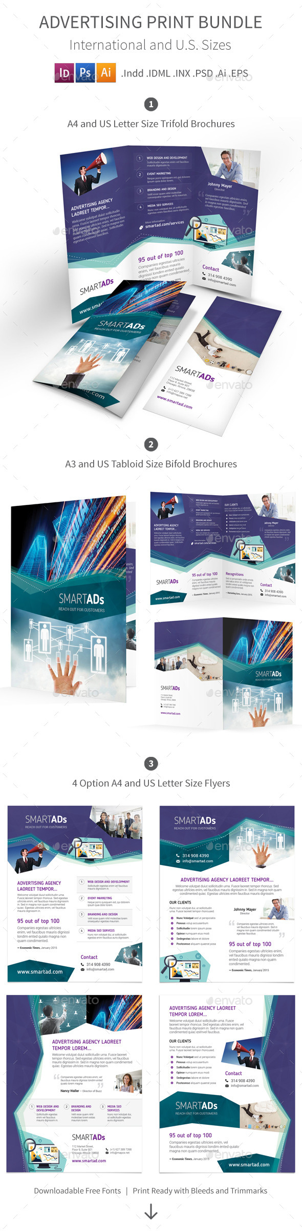 GraphicRiver Advertising Print Bundle 10266241