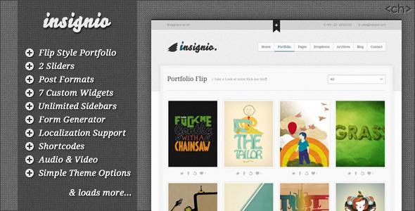 Insignio wordpress theme download