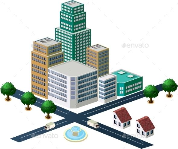 GraphicRiver City 10266559