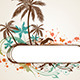 Tropical Background with Palms - GraphicRiver Item for Sale