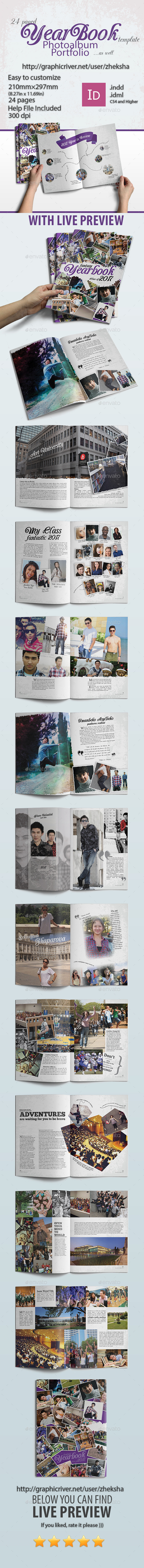 GraphicRiver Modern Complex Yearbook 10205541