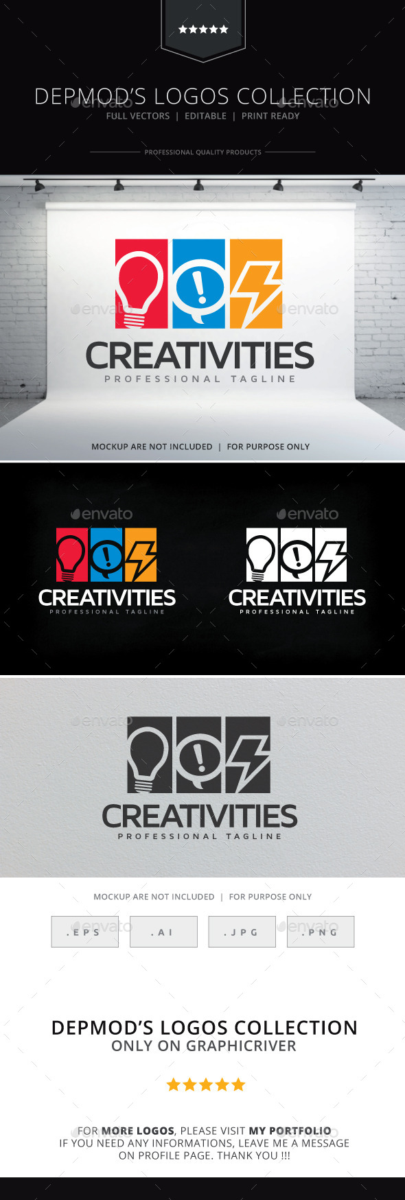 GraphicRiver Creativities Logo 10266628