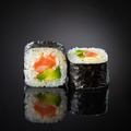 Sushi with salmon and avocado - PhotoDune Item for Sale