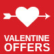 Valentine Special Offers and E-Marketing Template - Newsletters Email Templates