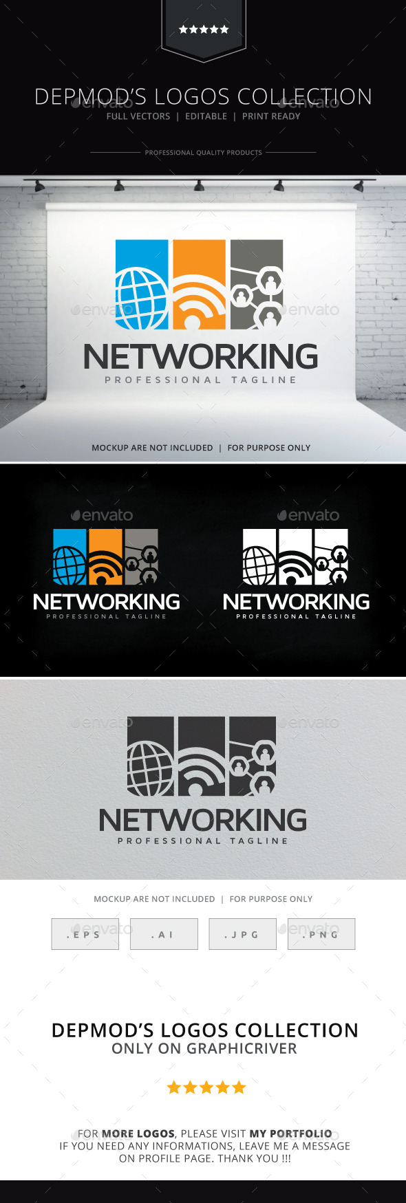 GraphicRiver Networking Logo 10266942