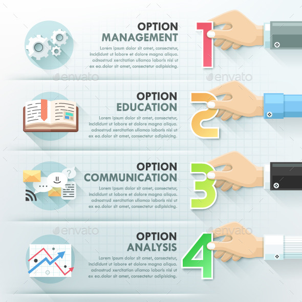 GraphicRiver Business Hands Teamwork Infographics 10267095