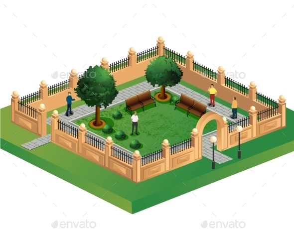 GraphicRiver Urban Garden 10267259