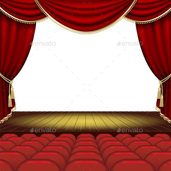 GraphicRiver Theater Stage Background 10267271